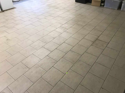 Tile Grout Cleaning  The Entrance